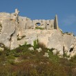 Typical landscapes of Les-Baux-de-Provence — Stock Photo