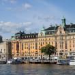 Boat on the Baltic sea in Stockholm — Stockfoto