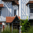 Normandie, an old house in Cabourg — Stock Photo