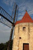 Historical windmill of Alphonse Daudet in Font vieille — Stock Photo