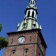 Oslo cathedral tower bell — Stock Photo