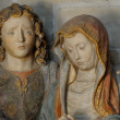 France, entombment of Christ in Poissy collegiate church — Stock Photo