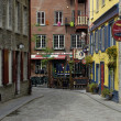Picturesque city of Quebec — Foto Stock