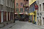 Picturesque city of Quebec — Stock Photo