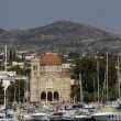 City of Egine in Saronic gulf — Stock Photo