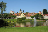 Old and picturesque city of visby — Stock Photo
