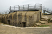 La Pointe du Hoc in Criqueville sur Mer in Normandie — Foto de Stock