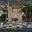 City of Egine in Saronic gulf — Foto de stock #22371339