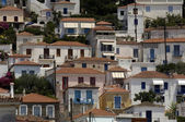 Picturesque island of Poros in Saronic gulf — Stock Photo