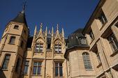 Normandia, hotel de bourgtheroulde a rouen — Foto Stock
