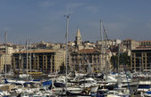 Vieux Port in Marseille in Provence — Stock Photo