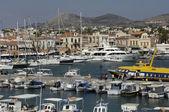 City of Egine in Saronic gulf — Stock Photo