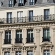 France, old building in les ChampsElysees - Stock Photo