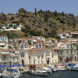 Picturesque island of Poros in Saronic gulf — Stock Photo #22442207