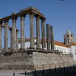 Ruin of roman antic temple — Stock Photo