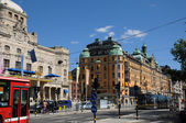 Historical city of Stockholm — Stock Photo