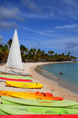France, Sainte Anne in Guadeloupe — Stock Photo