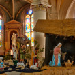 France, nativity scene in Triel sur Seine church — Stock Photo #22544885