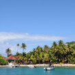 Stock Photo: Seaside of Les Saintes in Guadeloupe