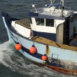 Fishing trawler in Trouville — Stock Photo
