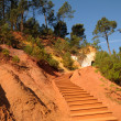 Stock Photo: Luberon, Ochre Footpath in Roussillon