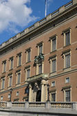 Old and picturesque Royal Castle of Stockholm — Stock Photo