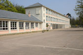 France, the Jules Ferry school in Les Mureaux — Stock Photo
