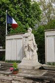 France, the war memorial of Les Mureaux — Stock Photo
