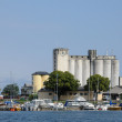 Стоковое фото: Old and picturesque city of Borgholm