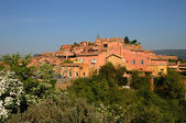 Luberon, the village of Roussillon in Provence — Stock Photo