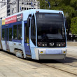 Stock Photo: Oslo tramway