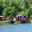Stock Photo: Sweden, picturesque house on little island near Stockholm