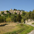 Village of Bonnieux in Provence - 图库照片