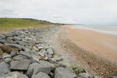 Omaha Beach in Colleville sur Mer in Normandy — Stock Photo