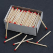 Some matches and a matchbox — Stock Photo #23052406