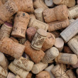 Assortment of French wine corks — Stock Photo #23053384