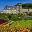 Renaissance castle of Villandry — Stock Photo