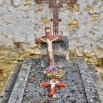 Ile de France, the cemetery of Triel Sur Seine — Stock Photo #24196753