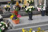France, the cemetery of Triel Sur Seine — Stock Photo