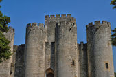 France, the medieval castle of Roquetaillade in Gironde — Stock Photo