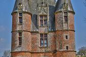 Renaissance castle of Carrouges in Normandie — 图库照片
