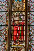 Frankrike, kyrkan saint georges av richebourg — Stockfoto