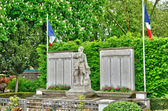 France, the war memorial of Les Mureaux — Stock Photo
