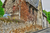 France, the Gros Murs street in Les Mureaux — Stock Photo