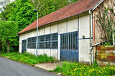 France, old shed in Les Mureaux — Stock Photo