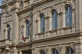 France, the city hall of Meulan — Stock Photo