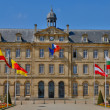 Stockfoto: Caen city hall in Normandie