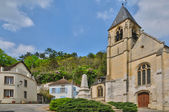 France, the village of La Roche Guyon — Stockfoto