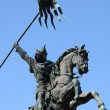 Stock Photo: William Conqueror statue in Falaise in Normandie
