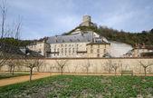 Francja, zamku la roche guyon — Zdjęcie stockowe